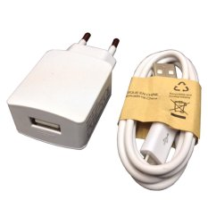 Digbanks Travel Charger for Lenovo IdeaTab A3000 - Putih - 2 Ampere