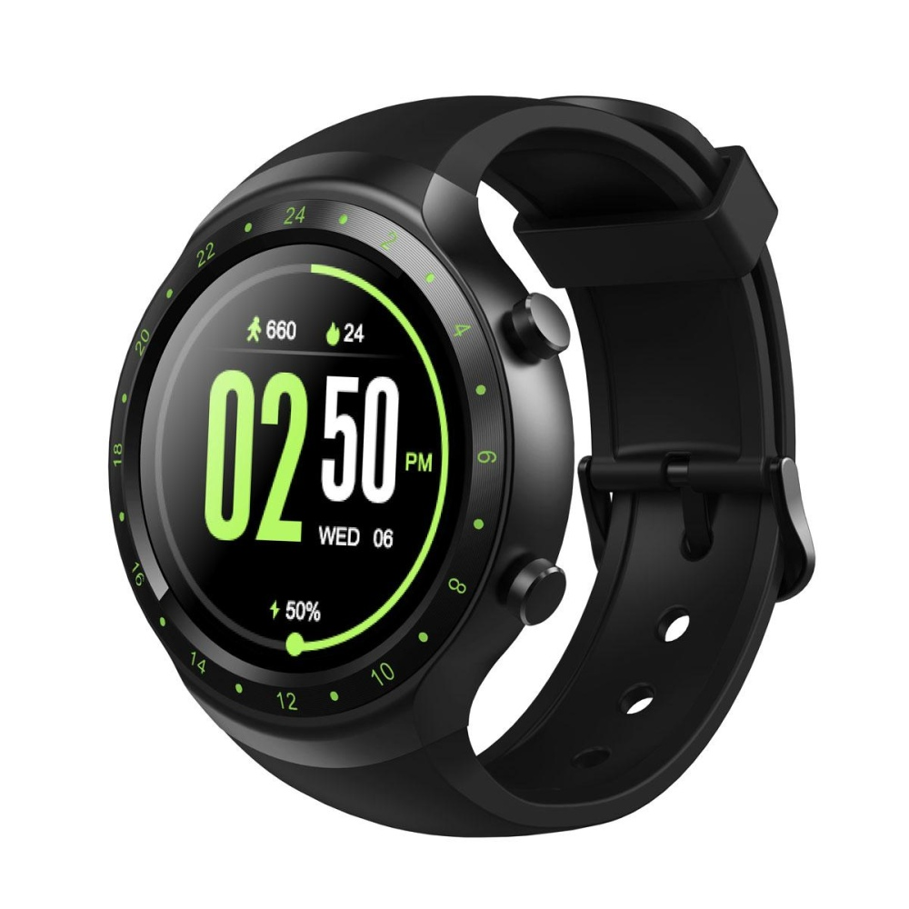Diggro DI07 Android 5.1 Smart Watch MTK6580 1.1 GHz untuk IOS Android (Neon Hijau)-Intl