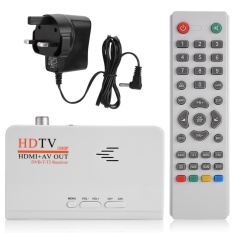 TV Box Tuner Receiver Konverter Digital 1080 P HD HDMI DVB-T2 Dengan Remote Control
