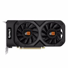 Digital Alliance GeForce GTX 1050 Ti dual 4GB GDDR5 128Bit - Hitam
