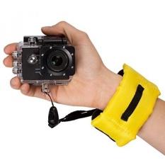 Digital Tali Pergelangan Kamera-Fosmon Pelampung Tahan Air Strap Pergelangan Tangan untuk GoPro, SJCAM, XiaoMi Yi, Canon, Nikon, panasonic Sony, dan Perangkat Lain dengan Wadah Anti Air-Intl