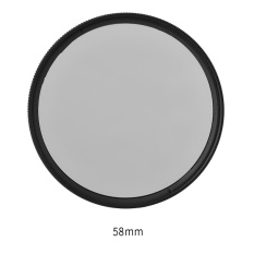 Toko Digital Circular Polarizing Cpl Threaded Universal Filter 58Mm Intl Oem