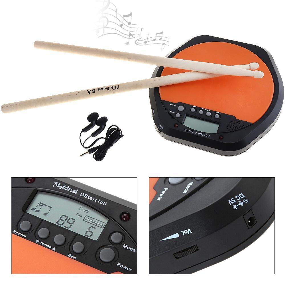 Digital Elektrik Drum Alas dengan Dua Kayu Maple 5A Drum Sticks