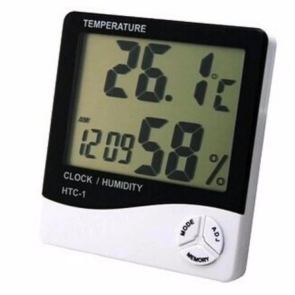 Harga Digital Hygrometer Termometer Htc 1 Alat Pengukur Suhu Ruangan Putih Termurah