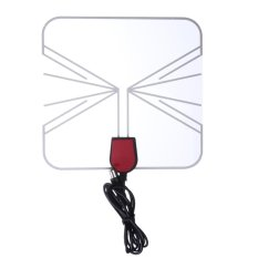 Harga Digital Indoor Hd Tv Antenna Box Flat Design High Gain 75 Ohm Intl Original