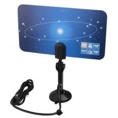 Jual Digital Indoor Tv Antenna Hdtv Dtv Box Ready Hd Vhf Uhf Flat Design High Gain Mg Intl Termurah