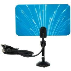 Beli Digital Indoor Antena Tv Hdtv Dtv Box Siap Hd Vhf Uhf Flat Design High Gain Style2 Oem Online