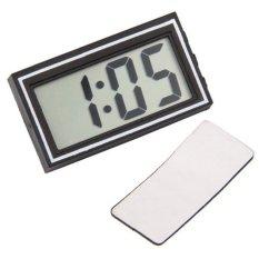 Harga Termurah Digital Lcd Dashboard Mobil Meja Tanggal Waktu Kalender Jam