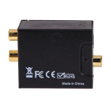 Diskon Digital Optical Coaxial Coaxial Toslink Ke Analog Rca L R Converter Adapter Intl Hong Kong Sar Tiongkok