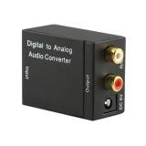 Diskon Produk Digital Optik Coaxcoaxialtoslink Untuk Analog Rca L R Audio Converteradapter Intl