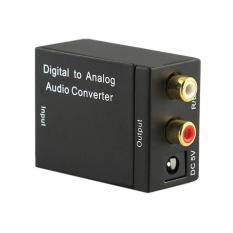 Promo Digital Optik Coaxcoaxialtoslink Untuk Analog Rca L R Audio Converteradapter Intl Oem