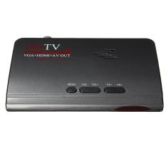 Digital Terrestrial HDMI 1080 P DVB-T T2 TV Box VGA AV CVBS Tuner Receiver Remote KAMI-Internasional
