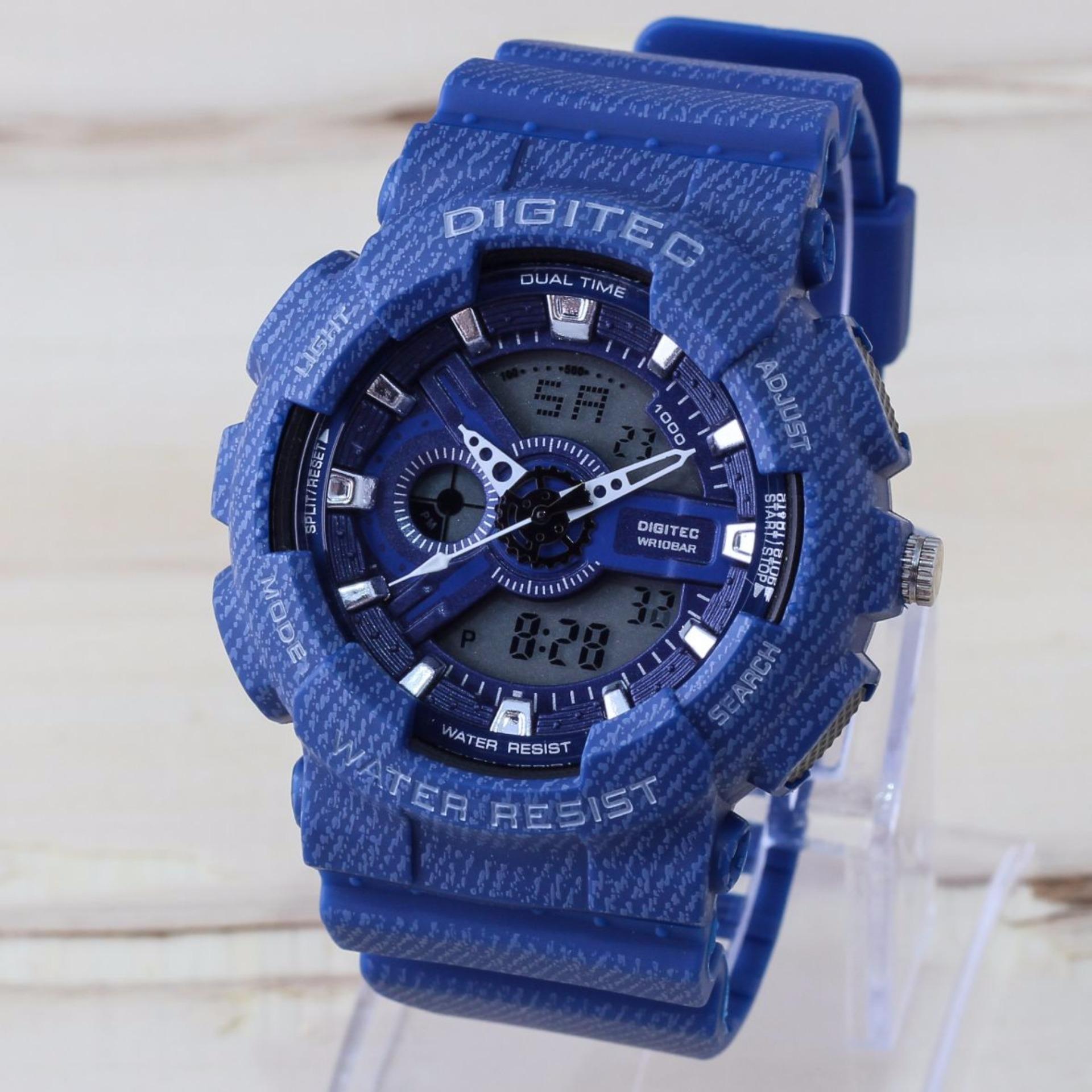 Spesifikasi Digitec Dg 0551M Dual Time Ds Jam Tangan Pria Rubber Strap Yang Bagus