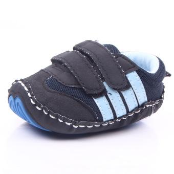 Penjualan Musim Semi dan Musim Gugur sport Sepatu bayi model baru modis Anak Laki-Laki buatan tangan sepatu Yang dijahit fitur Anti Selip Sepatu bayi 0112 ...