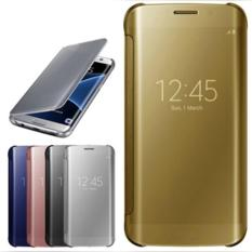 Dijual Flip Mirror Autolock Case Samsung Galaxy S6 Edge+/Plus Good Qualty Murah