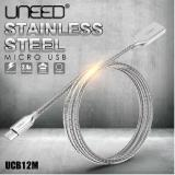 Promo Dinamika Uneed Kabel Data Charge Micro Usb Stainless Steel Quick Charge Android Di North Sumatra