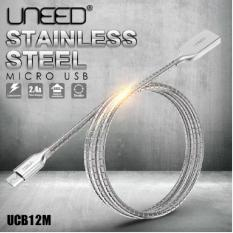 Promo Toko Dinamika Uneed Kabel Data Charge Micro Usb Stainless Steel Quick Charge Android