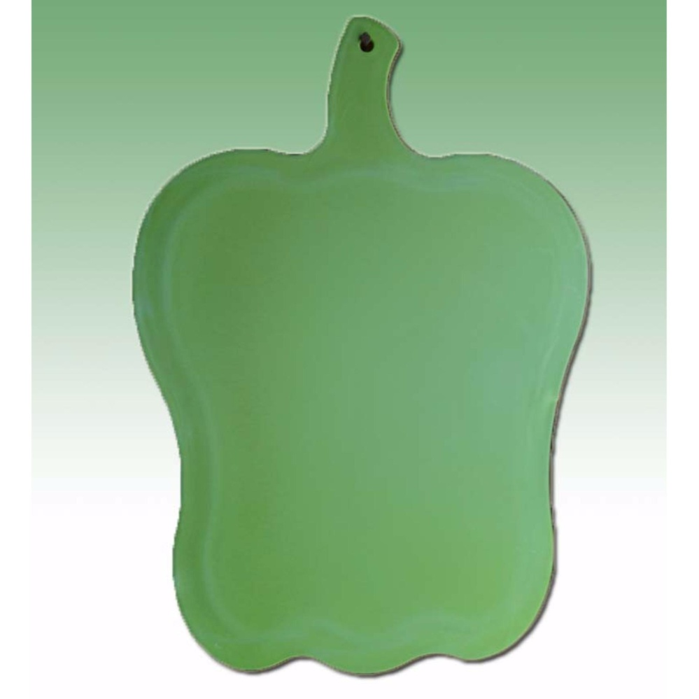Dinemate Cutting Board Talenan Bentuk Paprika - Green