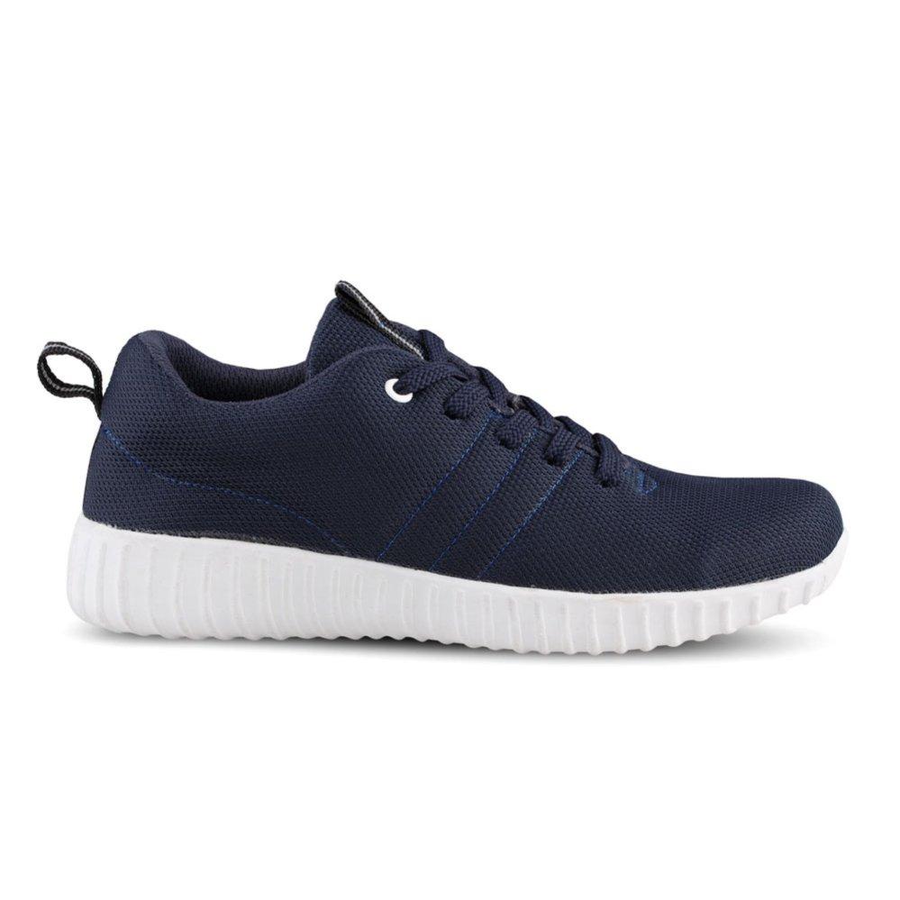Distro Bandung VR 358 Sepatu Kets Sneakers dan Kasual Pria - Navy