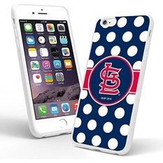 DIY BALAQUINN-iPhone 6 S Plus (5.5) Case, St Louis Cardinals (5) Rubber Case (Putih) untuk IPhone 6 Plus dan IPhone 6 S Plus-Intl