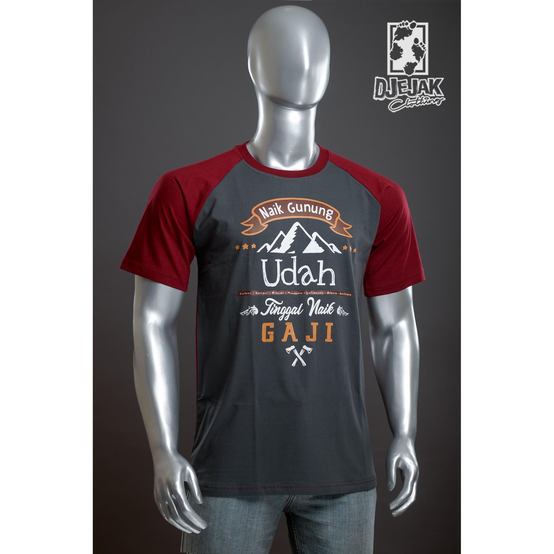 Harga Djejak Clothing Tshirt Kaos Adventure Unisex Lengan Pendek Naik Gaji Seken
