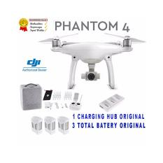 Jual Dji Phantom 4 Drone 4K Obstacle Avoidance White Quadcopter Dji Original