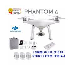 Dji Phantom 4 Drone 4K Obstacle Avoidance White Quadcopter Terbaru