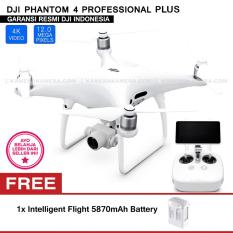 Beli Dji Phantom 4 Professional Plus Video 20Mp 4K Built In Lcd On Remote Controller Intelligent Flight 5870Mah Battery Secara Angsuran