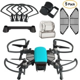 Cara Beli Dji Spark Aksesoris Kit 2 In 1 Propeller Guard Dengan Lipat Landing Gear Gimbal Camera Guard Lens Hood Finger Guard Board Intl