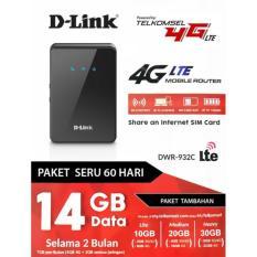 DLINK DWR-923C FREE TELKOMSEL 14GB 4G LTE  MODEM MIFI