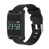 Jual Dm68 Smart Watch Monitor Kebugaran Tracker Denyut Jantung Gelang Hitam Intl Satu Set