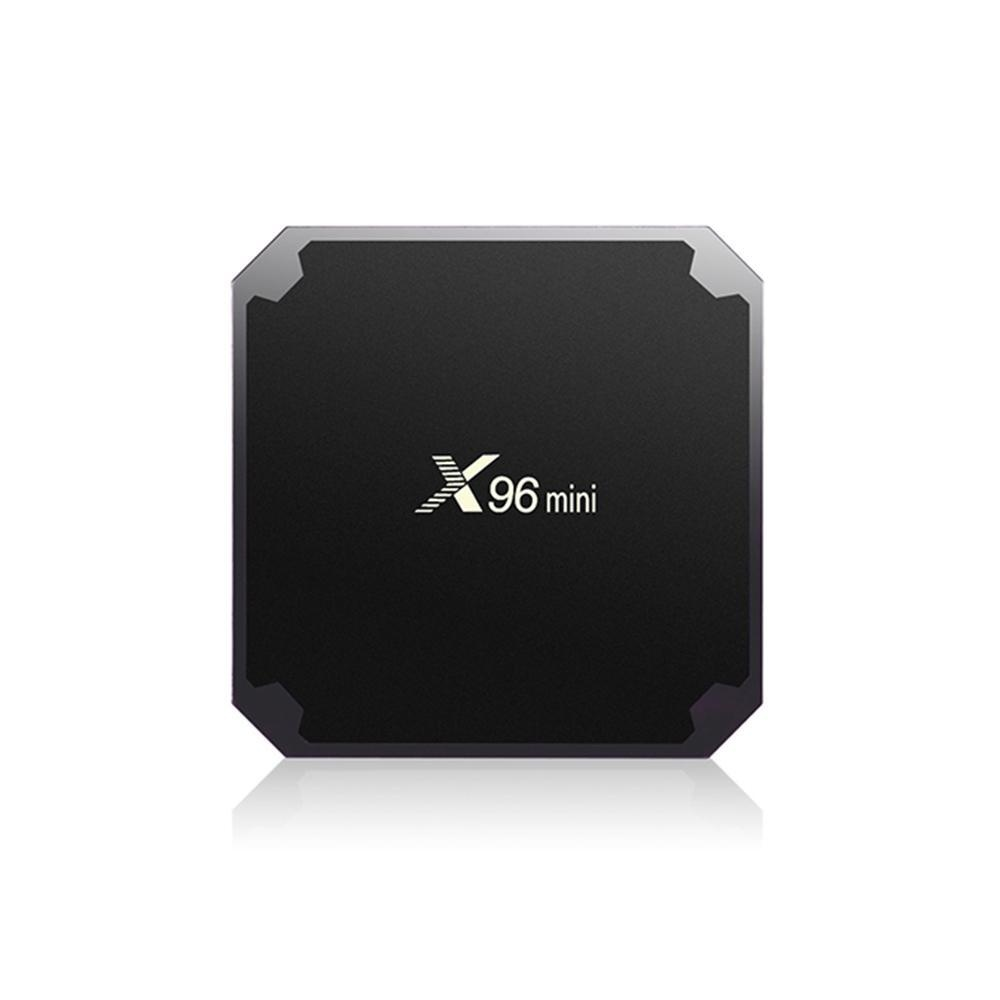 Dmscs X96 Mini Android TV Box 4 K Smart TV Box S905W 64bit Quad Core CPU 2 GB RAM 16 GB ROM dengan Terbaru Android 7.1.2 Sistem Built-In WIFI Ethernet (US Plug) -Intl