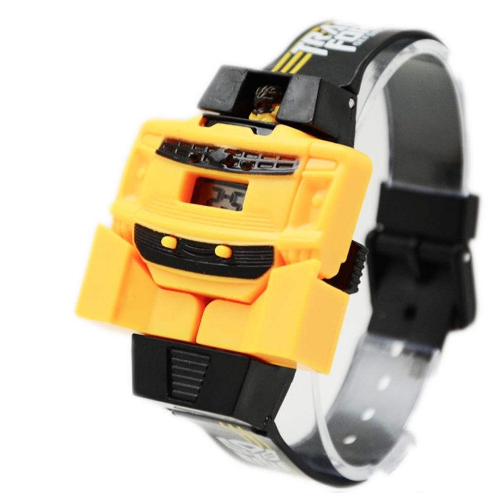 DnB Jam Tangan Anak Digital Transformers Bumble Bee