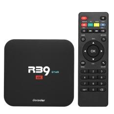 Docooler R39 STAR Smart Android TV Box Android 7.1 RK3229 Quad Core UHD 4K VP9 H.265 2GB / 16GB DLNA WiFi LAN HD Media Player US Plug - intl