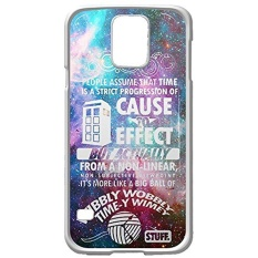DOCTOR WHO CASE (CUSTOM) for Samsung Galaxy S5 White case - intl