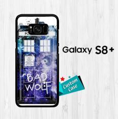 Doctor Who Police Box E0205 Casing HP Samsung Galaxy S8 Plus Custom Case Cover