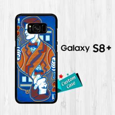 doctor who wallpaper Y2179 Casing HP Samsung Galaxy S8 Plus Custom Case Cover