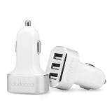 Promo Mfi Apple Bersertifikat Kecepatan Tinggi 3 Port Usb Ic Charger Mobil Dodocool With 33 Watt 6 6 Amp To Apple Samsung Putih Di Hong Kong Sar Tiongkok