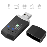 Diskon Produk Dodocool N300 Wireless N Jaringan Nirkabel Usb 2 Adaptor Wi Fi Dongle 2 4 Ghz 300 Mbps Dukungan Windows Xp Vista 7 8 8 1 10 Mac Os X 10 4 10 10 Hitam Internasional