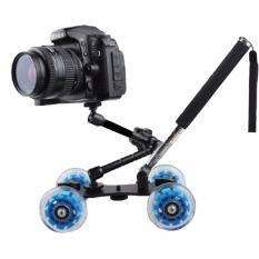 Berapa Harga Dolly Slider Kamera Dslr Dengan Magic Arm Monopod Black Blue Dolly Wink Di Jawa Tengah