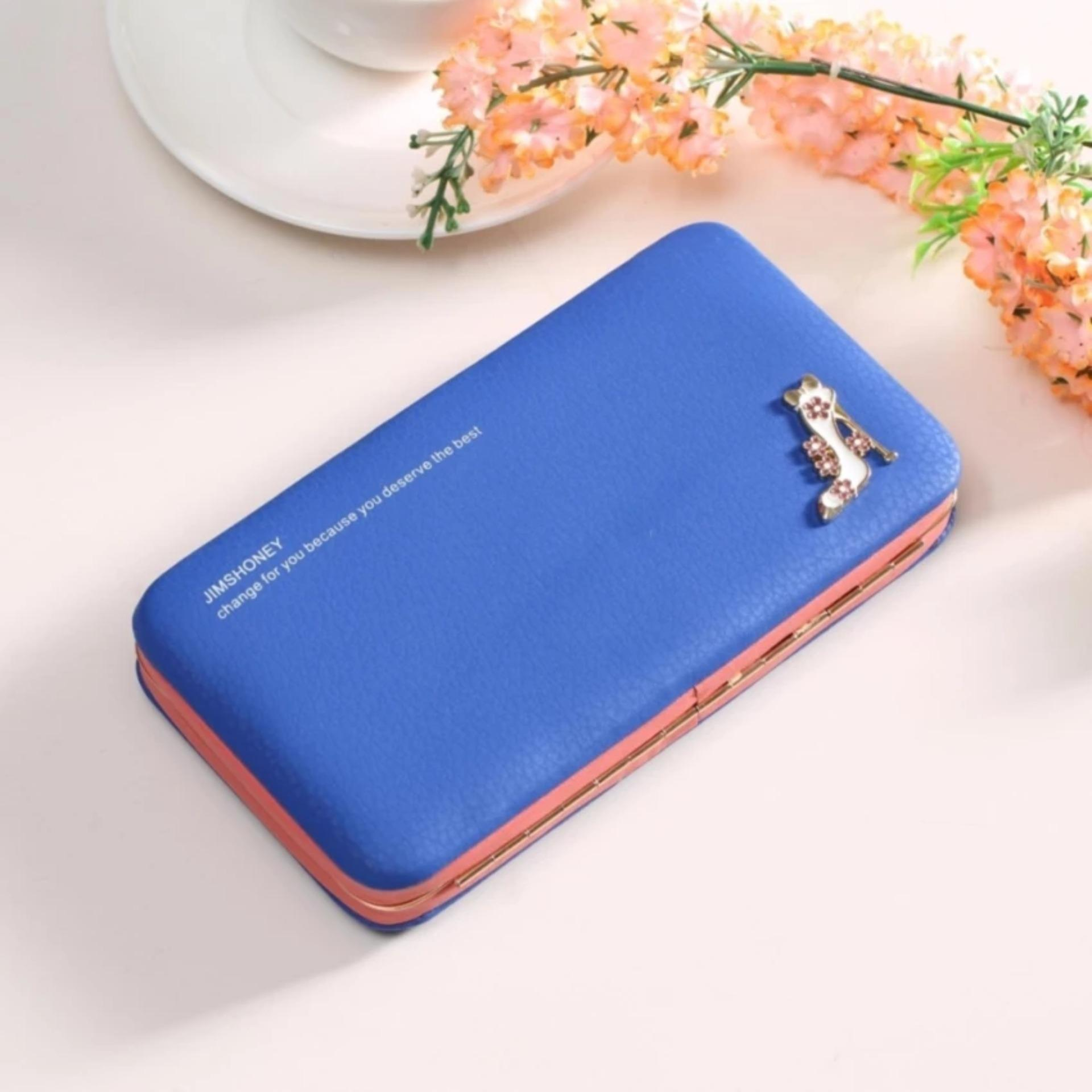 Harga Dompet Hp Organizer Jimshoney Megan Heels Wallet Navy Jimshoney Original