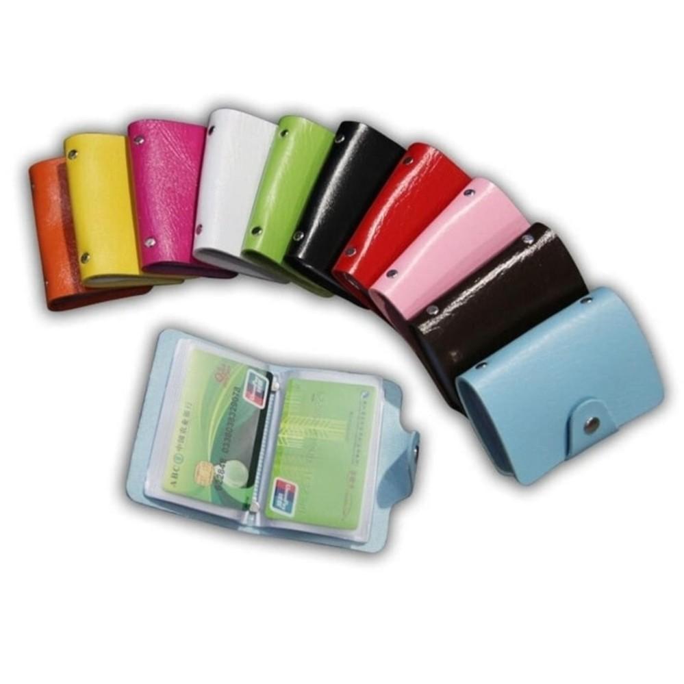 Dompet Tempat Kartu Nama - Kartu Kredit - Kartu ATM - 24 slot