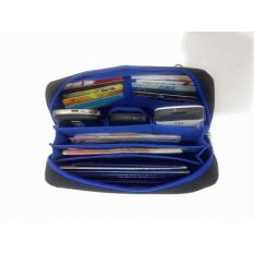 Diskon Dompet Tempat Penyimpanan Handphone Atm Dan Kartu Nama Bank Book Pouch Organiser Branded