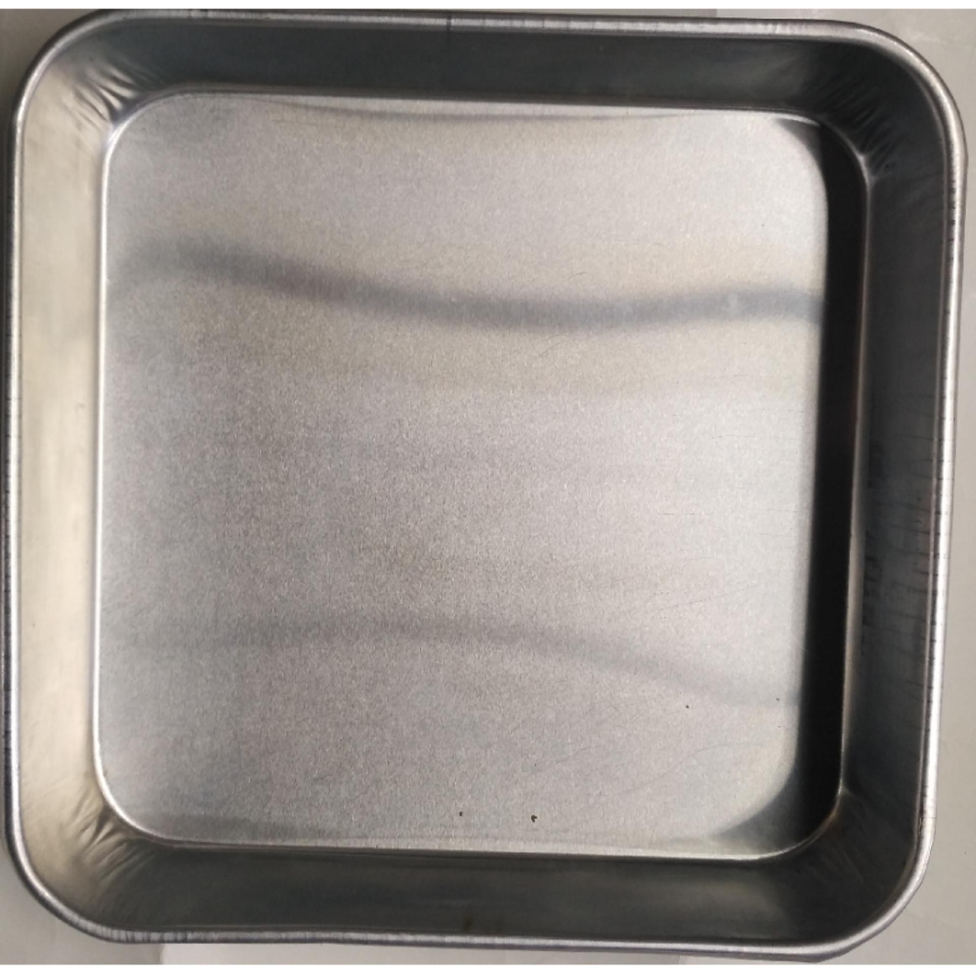Beli Dos 2Bh Loyang Loyang Kotak Ukuran 24 X 24 X 4 Cm Aluminium Online
