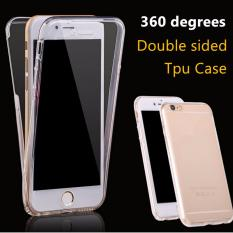 Double Crystal jelly case for iPhone 6 soft case double protection