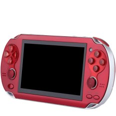 Double Rockers Handheld Game Player 4gb 4.3 inch Video Game Portatil 2017 Portable Game Console Free Download Camera TV Out(Red) - intl