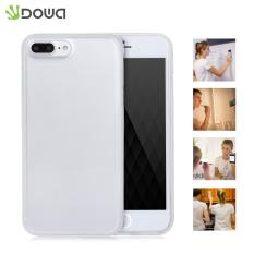 Dowa Magical Adsorption Anti-Gravity Hands-Free Transparent Case Selfie Cover For Iphone 7 Plus(White) - intl