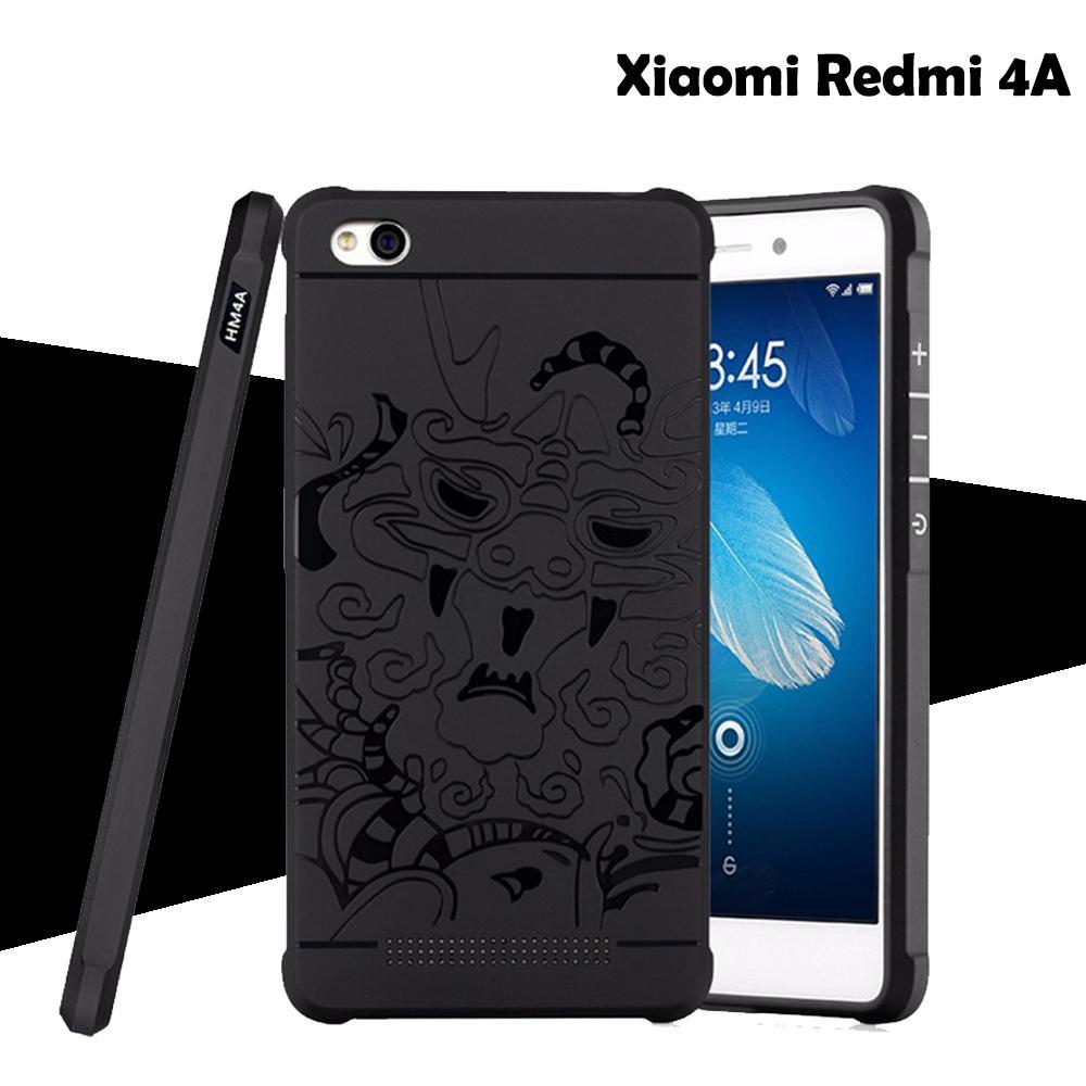 Dragon Cocose Case Xiaomi Redmi 4A Motif Naga Hitam Original