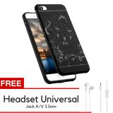 Spesifikasi Dragon Shockproof Hybrid Back Case For Xiaomi Mi 5 Mi5 Black Gratis Universal Headset Online