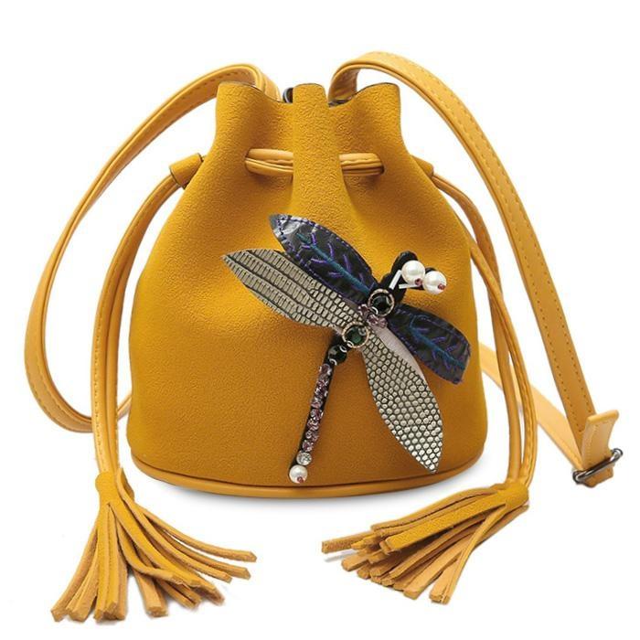 Top 10 Dragonfly Embellished Drawstring Bucket Bag Intl Online